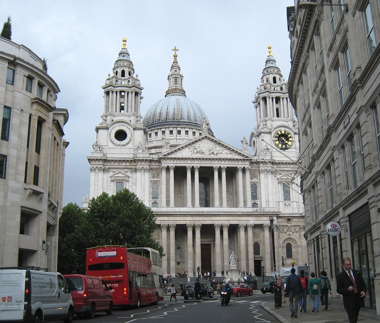 St Paul's Cathedral, 780