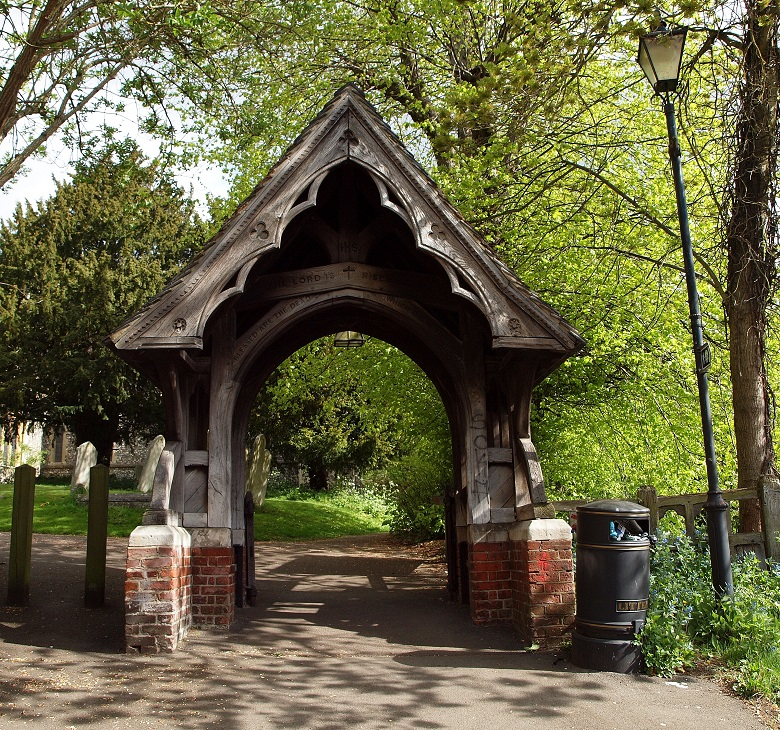 St Mary Harrow on the Hill Lytch Gate